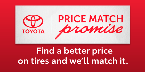 PRICE MATCH PROMISE ON WINTER TIRES